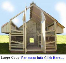 Hen House Plans And Mobile Chicken Tractor Plans