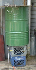 Home bio diesel processor wash tank