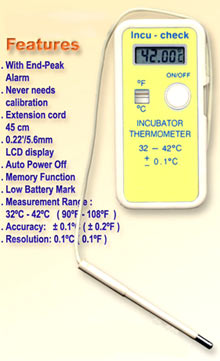 chicken incubator thermometer